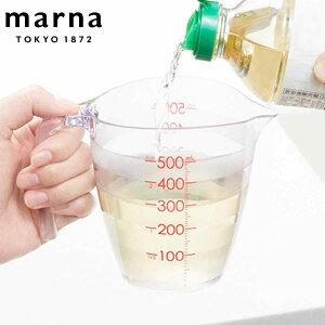 計量カップ 目盛りが見やすい計量カップ 500ml クリア ( 計量コップ 計量器具 メジャーカップ 食洗機対応 電子レンジ対応 目盛り付き 計量 プラスチック製 メジャーコップ 製菓道具 お菓子