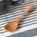 スプーン 木 長さ12.4cm S knob 木製 カトラリー 食器 ( 木製スプーン キャンプ アウトドア 天然木 すぷーん ティー…
