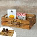 コンテナボックス A4 幅34×奥行24×高さ10cm ボックス 木製 ( 収納ボックス A4サイズ 天然木 木箱 アンティーク…