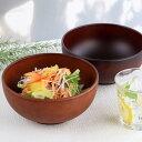 どんぶり 1500ml SEE 麺どんぶり 鉢 プラスチック 食器 日本製 おしゃれ ( 電子レンジ対応 食洗機対応 木製風 丼 木…
