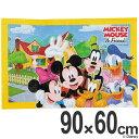 レジャーシート ソフトクッションレジャーシート 1人用 ミッキーマウス 90×60cm ディズニー ( レジャーマット 敷物 …