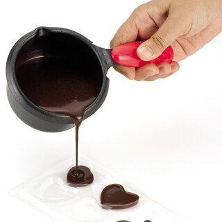 チョコフォンデュ電気片手鍋フッ素加工調理器具製菓道具フォンデュ鍋