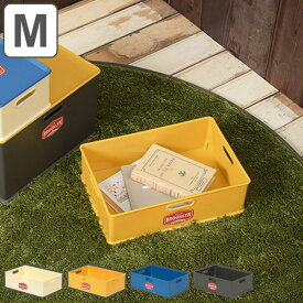 収納ボックス M 幅39×奥行27×高さ12cm ブルックリン ( カラーボックス インナーボックス 収納 収納ケース おもちゃ箱 プラスチック コンテナ 積み重ね スタッキング 横置き おもちゃ入れ 小物入れ インナーケース )【4500円以上送料無料】