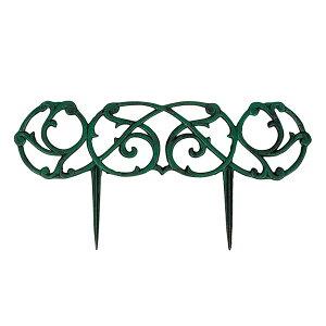 ガーデンフェンス アイアン 幅60×奥行1.5×高さ30cm オールド アンティーク調 ( ガーデニング用品 園芸用品 ガーデン雑貨 園芸 インテリア 庭 雑貨 お庭 花壇 花壇フェンス エクステリア 仕切