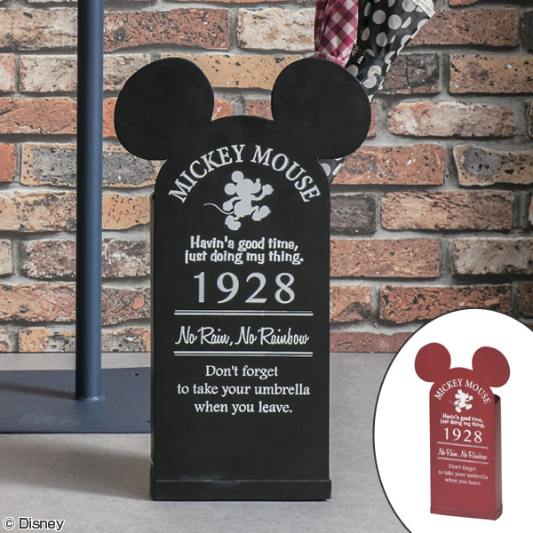 傘立て アンブレラスタンド ヴィンテージミッキー ミッキーマウス ( 送料無料 ディズニー ミッキー おしゃれ Disney キャラクター セトクラフト 傘 玄関 収納 ビンテージ アンティーク レトロ プレゼント ギフト お祝い )【3900円以上送料無料】