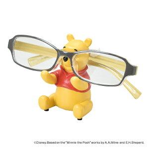 メガネスタンド POOH くまのプーさん ステーショナリー 文房具 ( メガネ立て 眼鏡立て めがね立て メガネ置き めがねホルダー 寝室 洗面所 デスク オフィス ベッドサイド 自宅 卓上 便利グッ