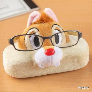 メガネスタンド チップ&デール デール 眼鏡ケース 収納 ディズニー ( 眼鏡スタンド めがねスタンド メガネケース めがねケース メガネ置き 眼鏡立て メガネ入れ めがね かわいい スタンド