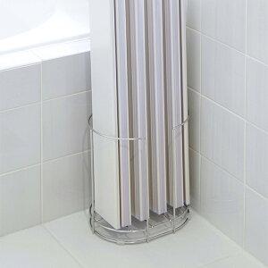 風呂蓋スタンド ステンレス風呂ふたスタンド 風呂蓋 収納 ステンレス ( 風呂蓋ホルダー 風呂フタ ラック 風呂蓋ラック スタンド 折りたたみ 巻きフタ シャッター式 組フタ 組み蓋 フタ置き