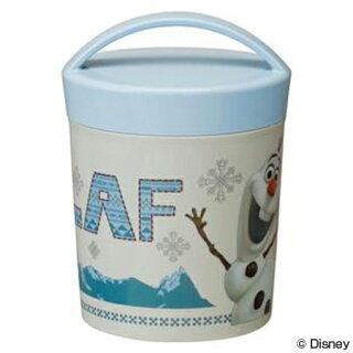 お弁当箱カフェカップランチボックスアナと雪の女王オラフ丸型2段580ml