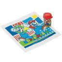 おしぼりセット スーパーマリオ 子供用 キャラクター ( おしぼりケース お弁当グッズ おしぼり おしぼりタオル 遠…