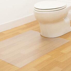 楽天市場拭けるトイレマット 透明の通販