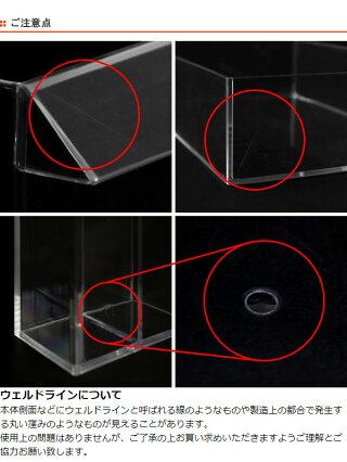 ペンスタンドクリア2分割プラスチック透明収納ペン立てデスコシリーズ25個セット