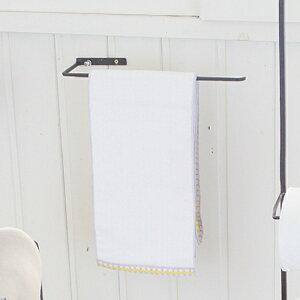 タオル掛け ジョセフアイアン タオルハンガー 洗面所 壁 壁付 アイアン ( フック タオルホルダー タオル 壁付け アンティーク ディスプレイ 掛ける パウダールーム 収納 キッチン シンプル