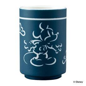 湯呑み 220ml ミッキーマウス 磁器 日本製 キャラクター ( 湯飲み 湯呑 お茶 ディズニー みっきーまうす 湯呑茶碗 湯のみ カップ 茶器 和モダン おしゃれ かわいい )【3980円以上送料無料】