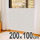 寒さ対策 窓 あったかキープパネル 幅200×高さ100cm ツリー ( 窓際 冷気 対策 パネル 風 遮断 防寒 冷え 窓ガラス …
