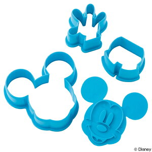クッキー型 ミッキーマウス 3個入り プラスチック製 ...