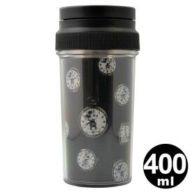 サーモマグ タンブラー ヴィンテージウォッチ ディズニー 400ml ステンレス製 ブラック ( キャラクター 保冷 保温 マグカップ 魔法瓶 携帯タンブラー ミッキーマウス ミッキー ) 【4500円以上送料無料】