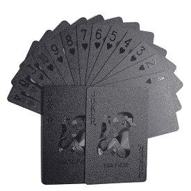 黒のトランプ カード ポーカー カジノ TRUMP CARD 手品 マジック ゲーム テーブルゲーム