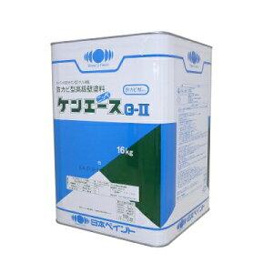 【送料無料】 ニッペ ケンエースG-2 つや消し シャニンブルー [16kg] 日本ペイント