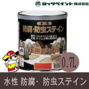 水性 防腐 防虫ステイン ナフタデコール [0.7L] ロックペイント