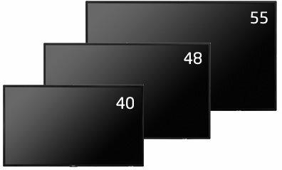 55型大画面液晶ディスプレイ NECディスプレイソリューションズ MultiSync LCD-P554 他社より安くします!
