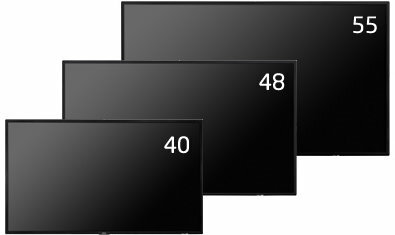 55型大画面液晶ディスプレイ NECディスプレイソリューションズ MultiSync LCD-V554 他社より安くします!
