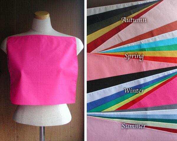 縁縫製済パーソナルカラードレープテスト診断用28色セットブロードスクエア型