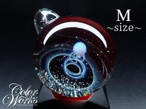 宇宙ガラスペンダント 送料無料!人気商品 レッド Mサイズ 宇宙ガラスペンダント 宇宙ガラス ガラスペンダント ペンダントトップ ガラスアクセサリー オパール シルバー フェザー ユニセッ