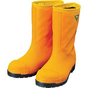 SHIBATA 冷蔵庫用長靴 -40℃ オレンジ/ブラック