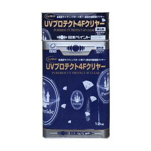 ニッペ ピュアライド UVプロテクト4Fクリヤー 15kgセット 艶有・3分艶 日本ペイント 【送料無料】