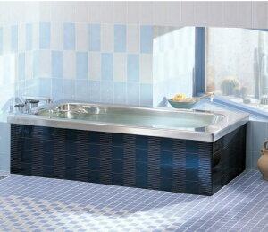 クリナップ ステンレス浴槽 マルチカラー サイズ92X72X65cm 満水量280L 1方半エプロン 定価¥99990- メーカー便にて配送の為代引き不可。