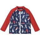 【30%OFF】ラッシュガード(ペンギン){男の子}《コンビミニ》ギフト ベビー服 子供服 Combi mini水着 80cm 90cm 100c…