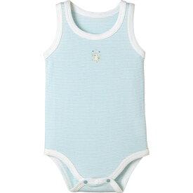 ボディタンクトップ(ミジンボーダー)《コンビミニ》ギフト ベビー服 子供服 Combi mini 新生児服 ベビー服 肌着 下着 70 80 90 100_30 女の子 袖なし