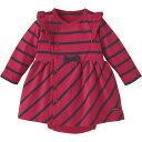 ラップワンピース(トラッドボーダー)《コンビミニ》【60cm 70cm 80cm】ギフト ベビー服 子供服 Combi mini おでかけ …