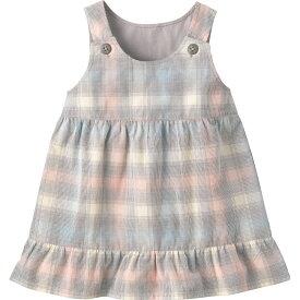 コーデュロイワンピース《コンビミニ》ギフト ベビー服 子供服 Combi mini おでかけ 秋 冬 はおりもの 女の子 スカート_Pup