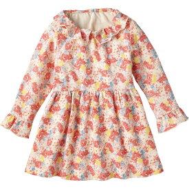 ワンピース(フローラル)《コンビミニ》ギフト ベビー服 子供服 Combi mini おでかけ 春夏 トップス_Pup