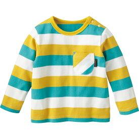 【50%OFF】Tシャツ(ブライトボーダー){男の子 女の子}《コンビミニ》ギフト ベビー服 子供服 Combi miniTシャツ(ブライトボーダー)_Pup