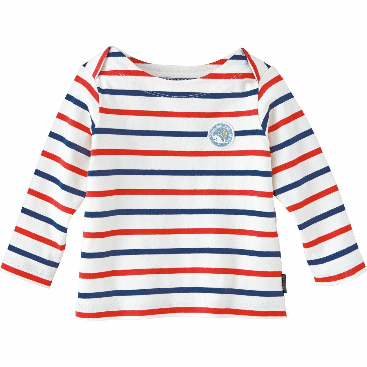 【30%OFF】Tシャツ(ペールボーダー){男の子 女の子}《コンビミニ》ギフト ベビー服 子供服 Combi miniTシャツ(ペールボーダー)