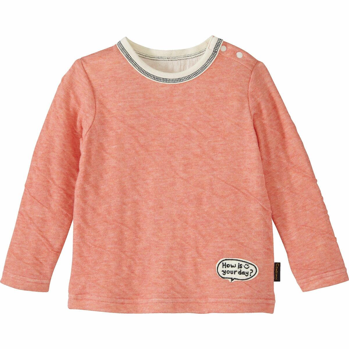 【40%OFF】ふわふわガーゼニットTシャツ{男の子 女の子}《コンビミニ》ギフト ベビー服 子供服 Combi miniふわふわガーゼニットTシャツ