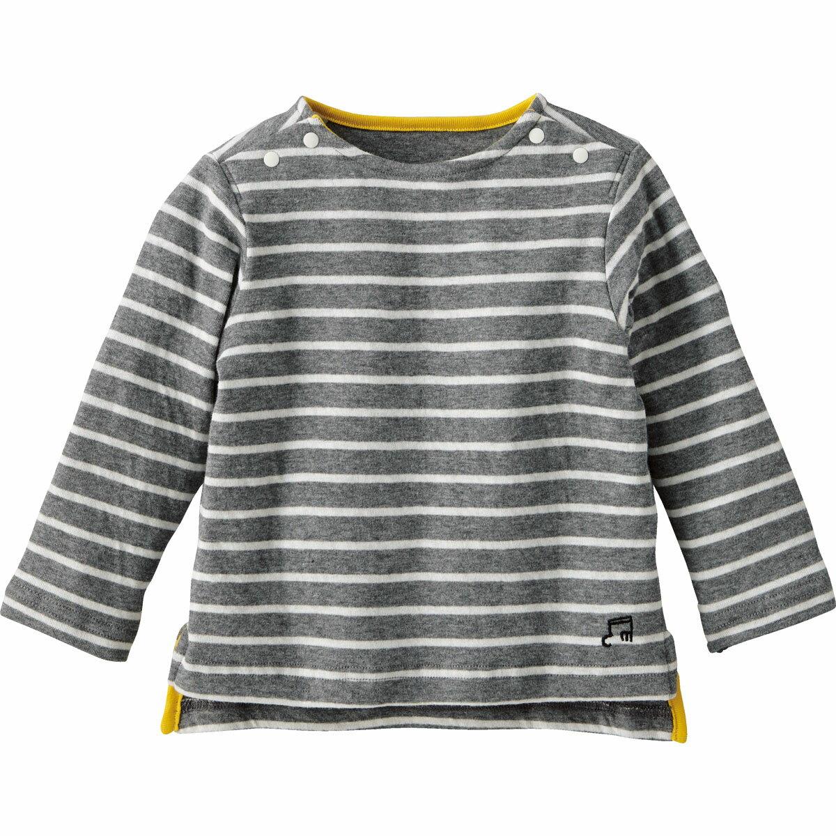 【40%OFF】やわらかTシャツ(ボーダー){男の子 女の子}《コンビミニ》ギフト ベビー服 子供服 Combi miniやわらかTシャツ(ボーダー)