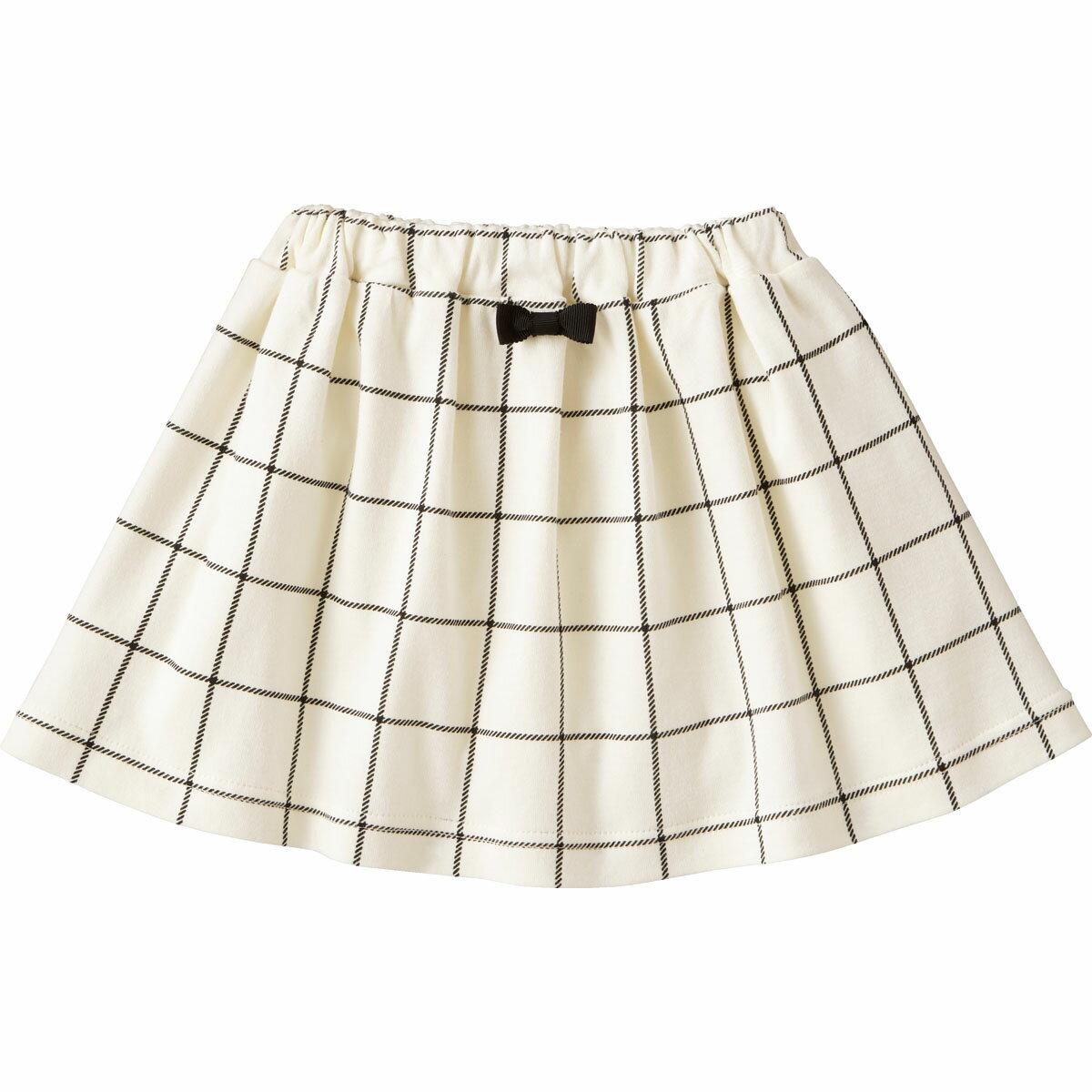 スカート(モノトーン){女の子}《コンビミニ》ギフト ベビー服 子供服 Combi miniスカート(モノトーン)
