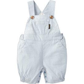 サロペット(コードレーン) | ストライプ ブルー 70cm 80cm 90cm 男の子 女の子 おしゃれ 可愛い ベビー キッズ 子供服 コンビミニ