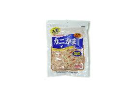 【特売】フジサワ カニかま (犬猫用) 大容量メガパック 400g【犬猫用おやつ】やわらか仕上げ。かまぼこにカニ肉をプラス。
