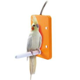 マルカン ほっととり暖 寄りそいヒーター L 【鳥用あったかグッズ】新発想!とまり木付き鳥用ヒーター!