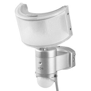 センサーライト LED 広角 AC(昼白色) 超広範囲タイプ DLA-1T600 【送料無料 セキュリティー 照明 屋外 屋内 人感 LED コンセント 玄関 防犯 駐車場 ガレージ ガーデン 照明
