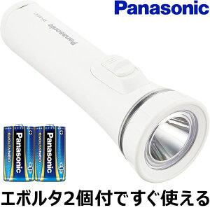 7/30限定 ポイント10倍! Panasonic パナソニック LED懐中電灯 BF-BG41K 乾電池エボルタNEO付