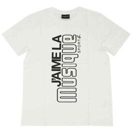 アニエスベー オム Tシャツ 1333-Q801 agnes b. HOMME メンズ 半袖 丸首 SPORT ホワイトxブラック サイズ2