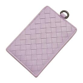ボッテガヴェネタ カードケース 169722-5303 パスケース イントレッチャート ナッパ パルム ライトパープル