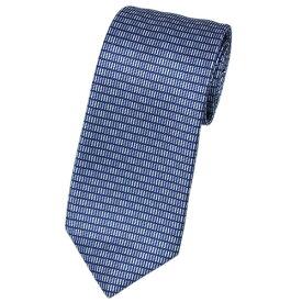 ポイント5倍以上! ブルガリ ネクタイ 241234 BVLGARI メンズ プリント デザイン ブルー・オルタンシャ/ブルーラベンダー/ホワイト 紙袋付き