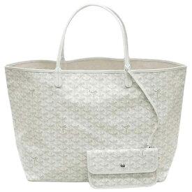 ゴヤール バッグ 定番 GOYARD トートバッグ サンルイGM ホワイト 紙袋付き あす楽対応